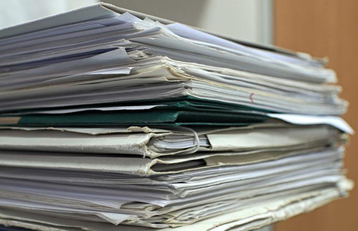 gestion notes de frais fin justificatifs papier
