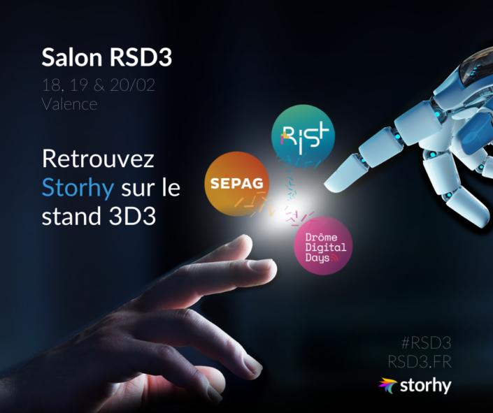 Storhy au salon RSD3